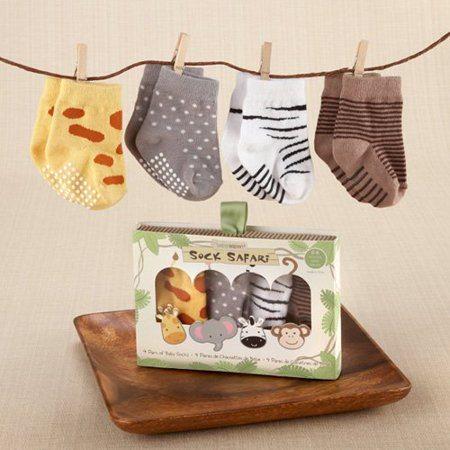 "$15.00 ""Sock Safari"" 4 Pair Animal Themed Socks"