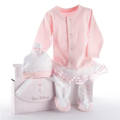 "$32.00 ""Big Dreamzzz"" Ballerina 2 Piece Layette Set"