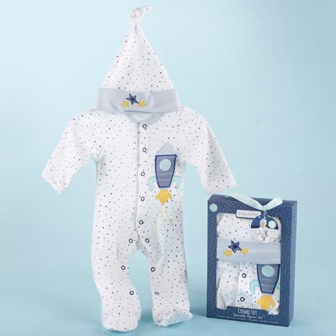 $31.00 Cosmo Tot Spaceship 2 Piece Pajama Gift Set