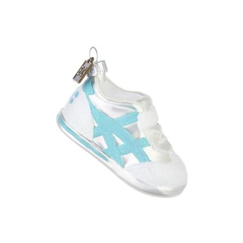 $10.00 Baby\'s First Christmas Blue Sneaker