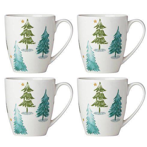 Lenox  Balsam Lane Mugs, Set of 4 $40.00