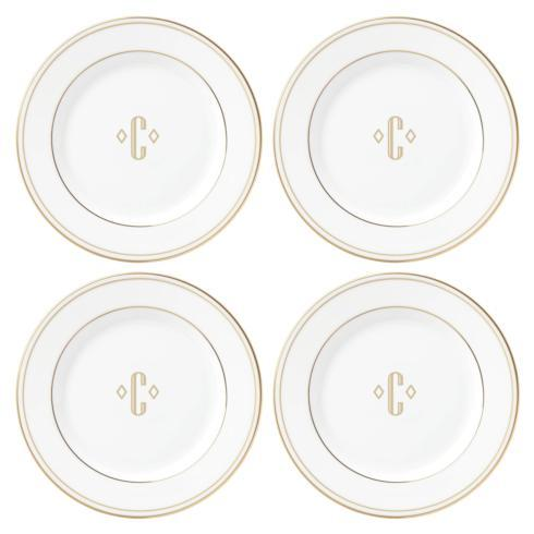 $49.95 Set of Four Tidbit Plates, C
