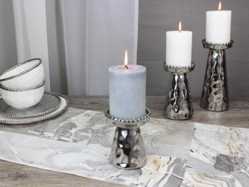 Live With It by Lora Hobbs Exclusives  Pampa Bay Verona Medium Beaded Candle Holder $20.00