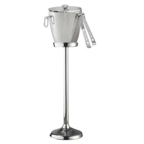 $182.00 Victoria Wine Cooler/ Ice Bucket with Tongs & Stand