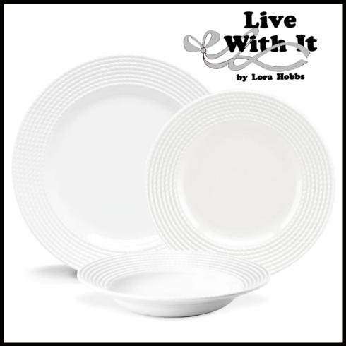 $66.00 Wickford Custom 3 Piece Place Setting