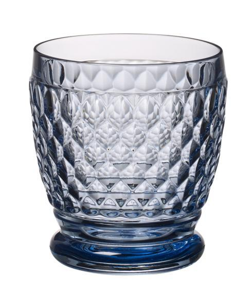Villeroy & Boch Boston Crystal Blue Double Old Fashioned Blue: Set of 4 $60.00
