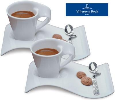 Villeroy & Boch New Wave New Wave Caffè  Espresso for Two Set $70.00