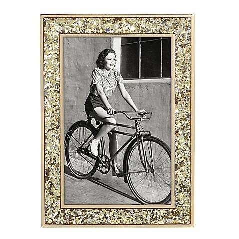 Kate Spade  Simply Sparkling Gold Glitter 4x6 Frame $40.00