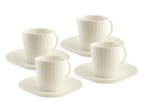 Grafton 4 Teacups and Saucers Set