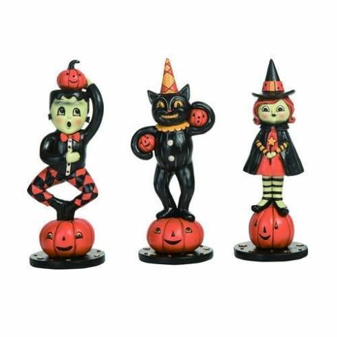 $66.00 Jack-O-Standing Figures, Set of 3