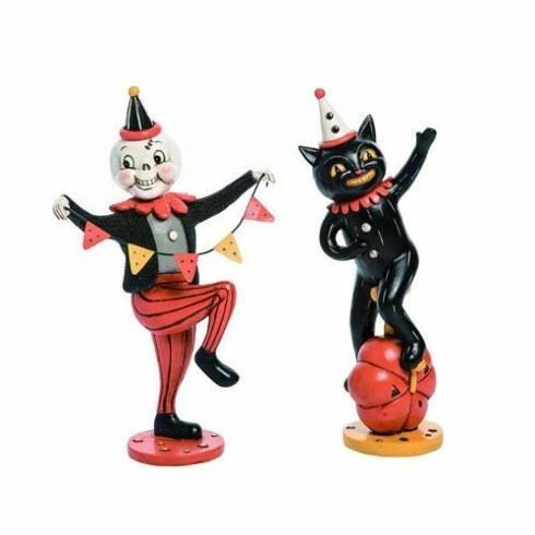 $64.00 Halloween Parade Figures, Set of 2