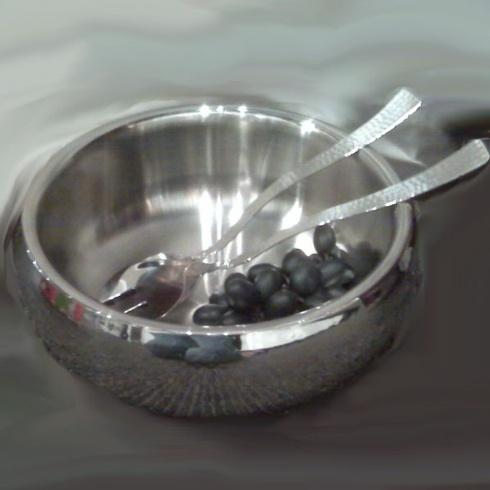 Elegance by Leeber  Hammered Metal 3 Piece Salad Bowl Set $65.00