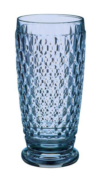 Villeroy & Boch Boston Crystal Blue Hiball Blue: Set of 4 $60.00