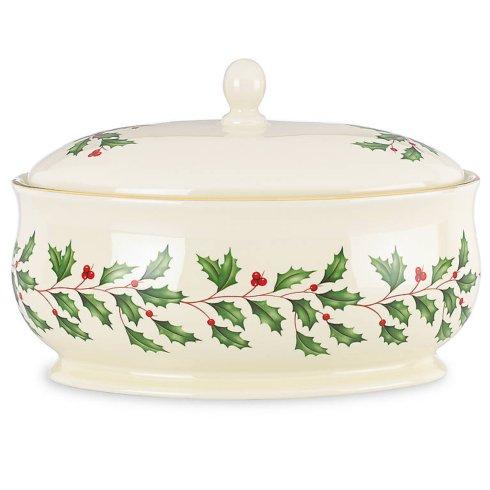 Lenox  Holiday Dinnerware Covered Dish $50.00