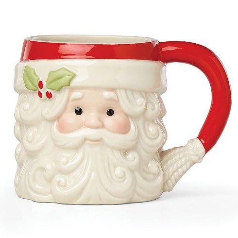 $20.00 Santa Figural Mug