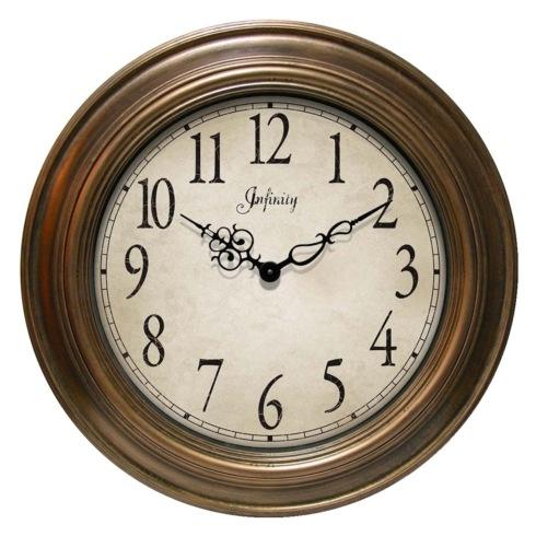 $80.00 Atheneum Large Gold Clock