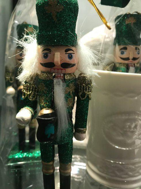 $10.00 Irish Nutcracker Ornament