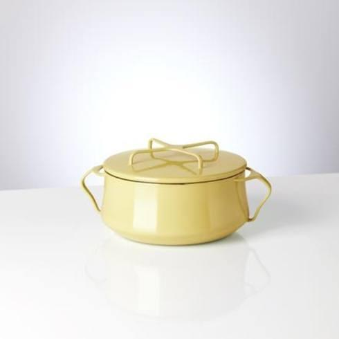 $115.00 Yellow 2 Quart Casserole with Lid