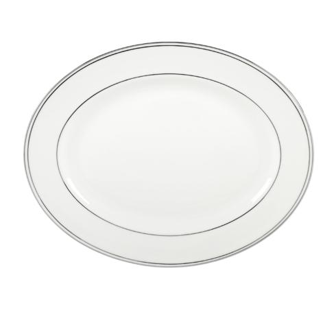 "Lenox  Federal Platinum Oval Platter, 13"" $170.00"