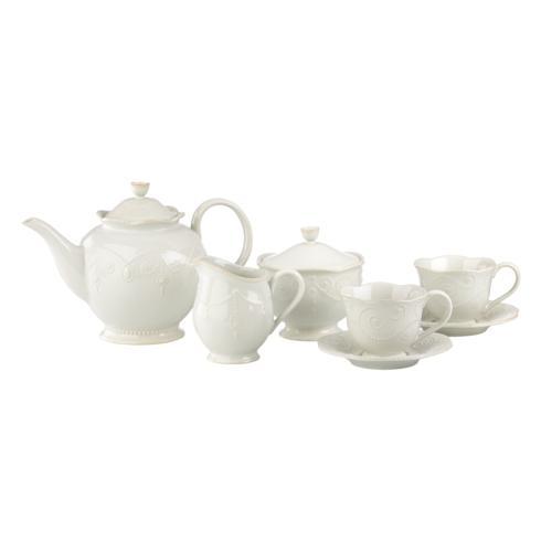 Lenox  French Perle White Tea Set, 7 Piece $100.00
