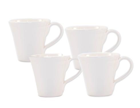 $92.00 Linen: Set of 4 Mugs
