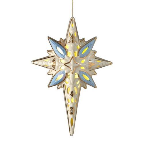 Lenox  First Blessing Nativity Lit Star $40.00