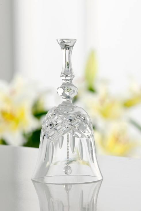 """Galway Irish Crystal  Lucky Finds Longford 6"""" Make Up Bell $19.95"""