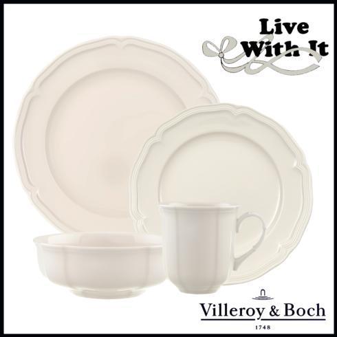 Villeroy & Boch  Manoir  Custom 4 Piece Place Setting $60.00
