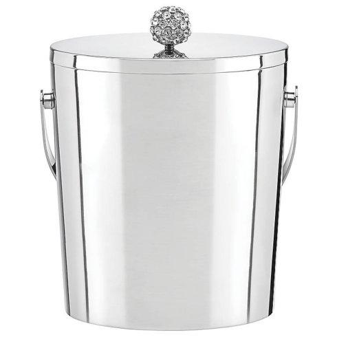 Kate Spade  Two of a Kind Metal Ice Bucket Rocks $125.00