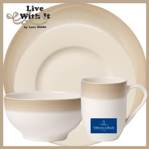 Villeroy & Boch Colorful Life Natural Cotton  Natural Cotton Custom: 4-Piece Place Setting $68.00