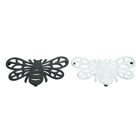 $12.00 White Cast Iron Bee Trivet