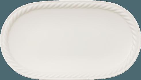 Villeroy & Boch  Montauk Pickle Dish / Oval Platter $19.00