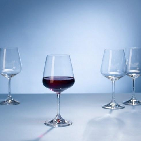 Villeroy & Boch  Ovid Ovid Set of 4 Red Wine Glasses $30.00