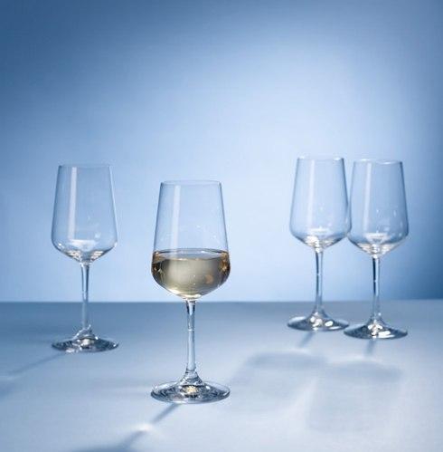 Villeroy & Boch  Ovid Ovid Set of 4 White Wine Glasses $25.00