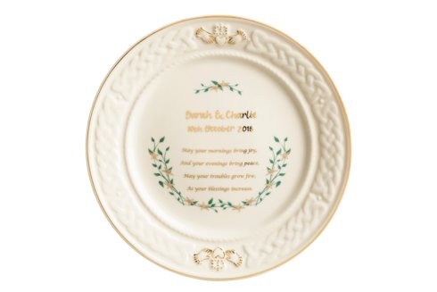 $75.00 Personalized Anniversary Plate