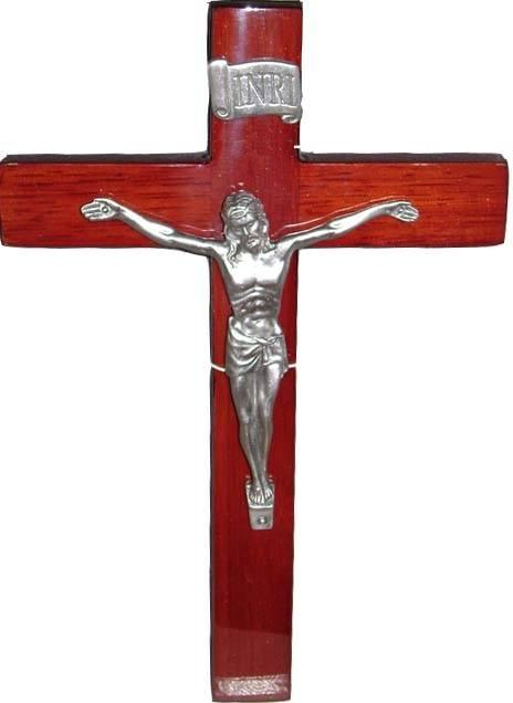 Elegance by Leeber   Piano Wood Crucifix $34.00