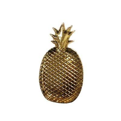 $19.00 Pineapple Plate-Electro