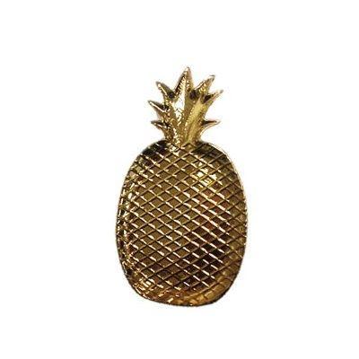 Ever Ellis   Pineapple Plate-Electro $19.00