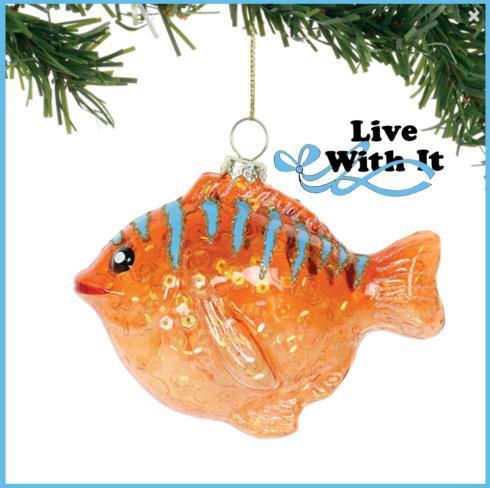 $11.95 Glittered Puff Fish