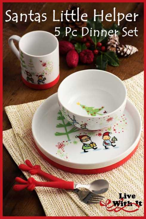 $35.00 Santa\'s Little Helper 5 Piece Set