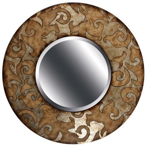 $195.00 Scroll Pattern Mirror