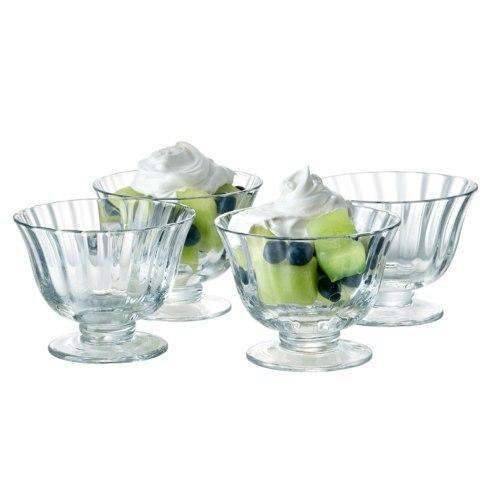 Artland  Aspen Set of 4 Dessert Coupe/ Ice Cream Bowls $30.00