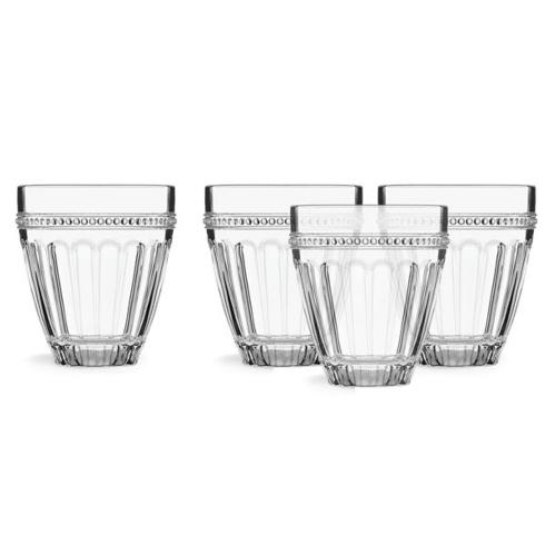 French Perle Glassware collection with 3 products