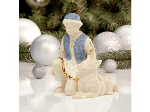 Lenox  First Blessing Nativity Shepherd Boy with Dog $60.00