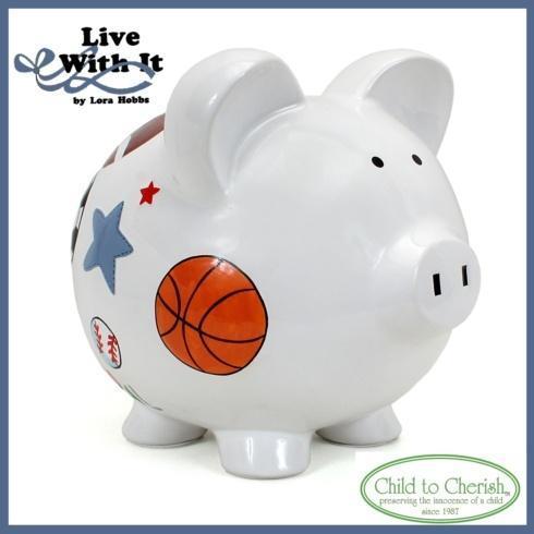 $34.00 Sports Piggy Bank