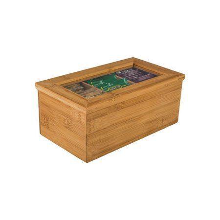 B.I.A. Cordon Bleu  Bamboo Accessories  Bamboo Tea Box $16.00