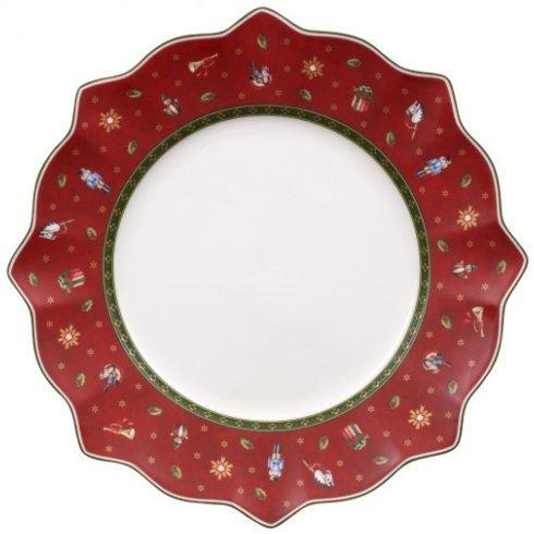 $20.00 Red Dinner Plate