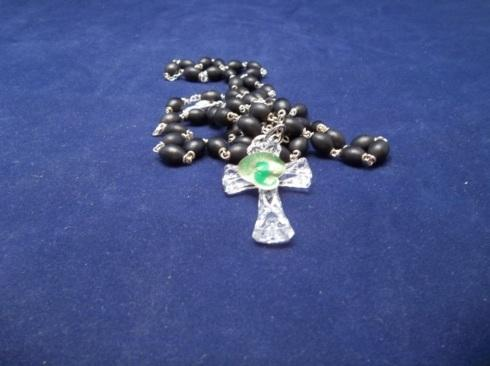 $45.00 Traditional Rosary Beads by Waterford