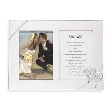 Lenox  True Love Double Invitation Frame $40.00