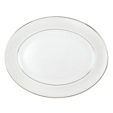 """Lenox  Venetian Lace 13"""" Oval Platter $220.00"""